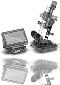 Digital video microscopy High Quality Inspection Microscope Owl-eye