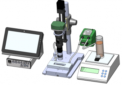 Digital video microscopy BYOS Oil inspection system