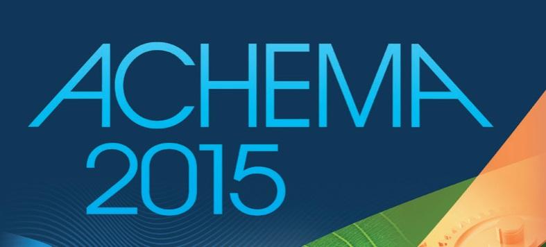 ACHEMA 2015