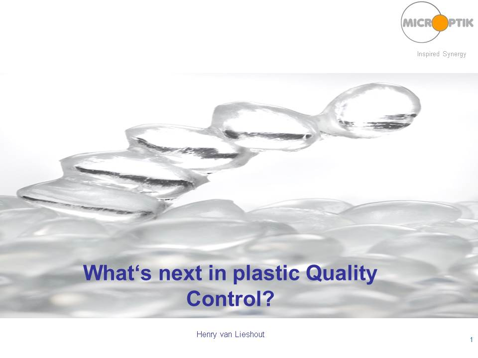 Mmicroptik What is next in plastic quality control