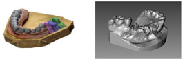 Microptik 3D reconstruction of difficult shapes
